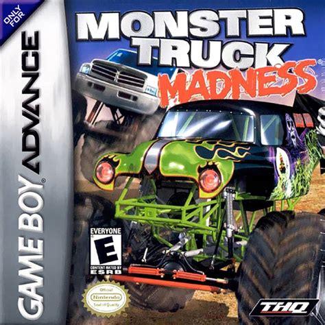 monster trucks video games monster truck madness nintendo game boy advance gba