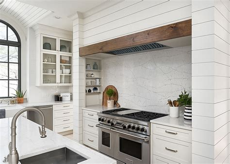 shiplap kitchen hood kitchen and dining room renovation home bunch interior