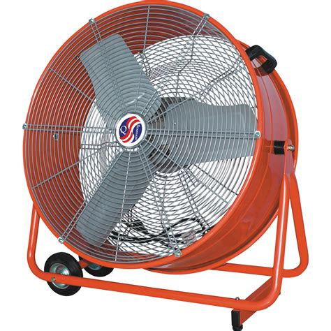 tractor supply shop fans q standard commercial cooler fan 24in 7700 cfm 1 3 hp