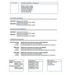 modelos de curriculum vitae chile word 3