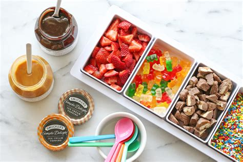 ice cream bar toppings ice cream cart catering san diego