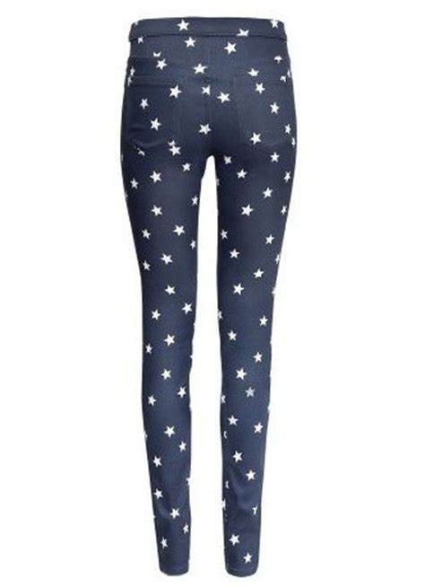 pattern bottom tights five pointed star pattern pencil pants women zone