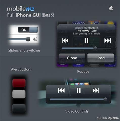 mobile me app mobileme iphone gui by kediashubham on deviantart