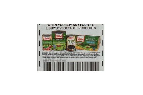 coupons for libby's vegetables