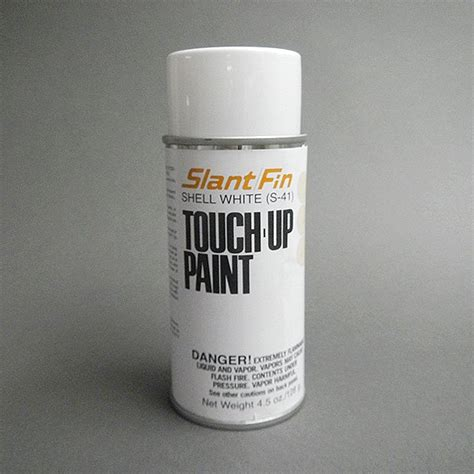 shell white touch up spray paint slantfin