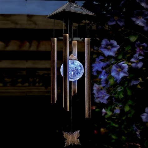 Cole And Bright Solar Colour Changing Wind Chime Light Solar Light Wind Chimes