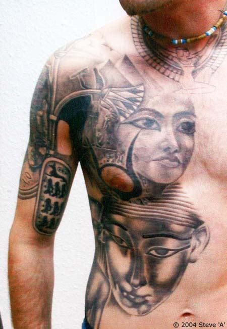 body tattoo egypt crazy body tattoo egyptian tattoo ideas
