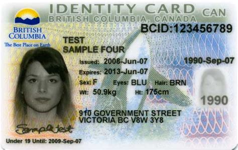canadian id card template help i need notary services in columbia but i