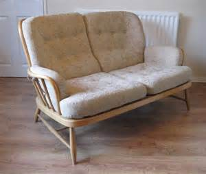 Floral Upholstery Antiques Atlas Ercol Sofa