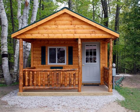 Cabins Michigan by Cabin Rentals At River View Cground Canoe Livery