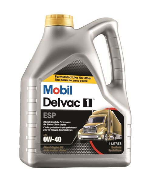 Mobil Delvac 1 Sae 5w40 Ultimate Synthetic Performance Galon 5 Liter mobil delvac 1 esp 0w 40 heavy duty engine oils mobil canada