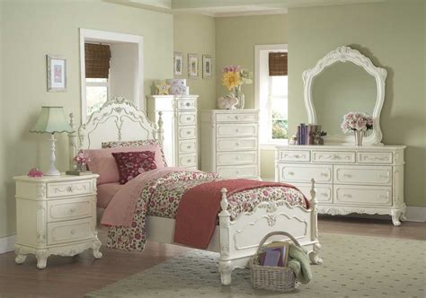 girls bedroom set white girls white victorian bedroom set