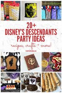 20 disney descendants party ideas recipes crafts more