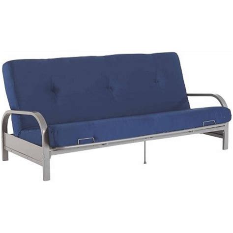 Is A Futon Mattress Size by Sleep Silver Metal Arm Futon Sofa Bed Frame Sleeper Size Mattress