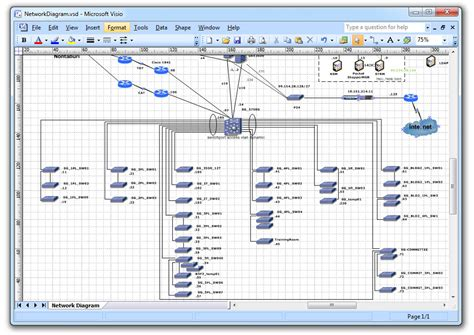 image gallery network diagram visio 2013
