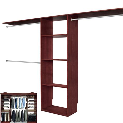 Walk In Closet Installation by Solid Wood Closets Walk In Closet Organizer System Cherry