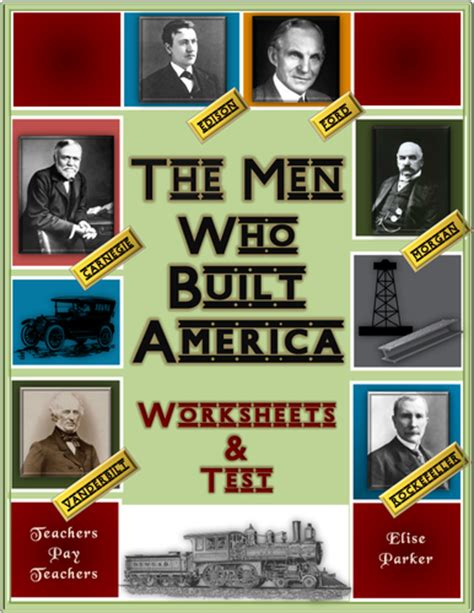 The Who Built America Worksheet by The Who Built America Worksheets Entire Series