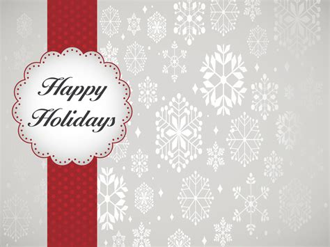happy holidays template design backgrounds