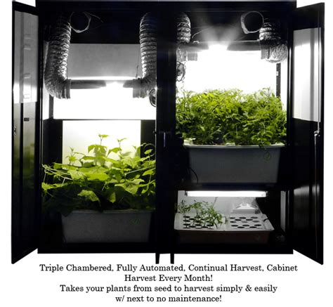 Growing Closet by Grow Boxes Hydroponic Systems Grow Cabinets Indoor Grow Kits