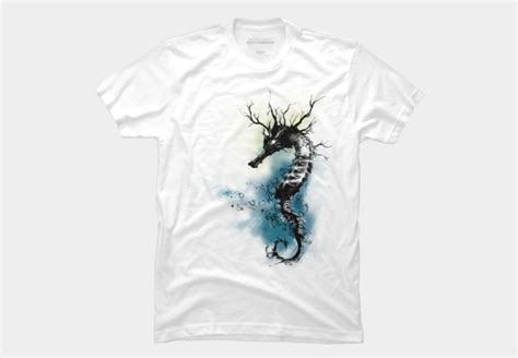 Silet 4 Garment Size 27 30 silent seahorse t shirt by kdeuce design by humans