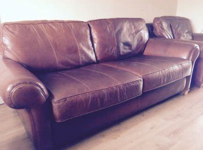 arnotts sofas high quality arnotts 2 1 1 brown leather suite for sale in