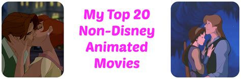 film disney non animated reviews from a bookworm my top 20 non disney animated movies