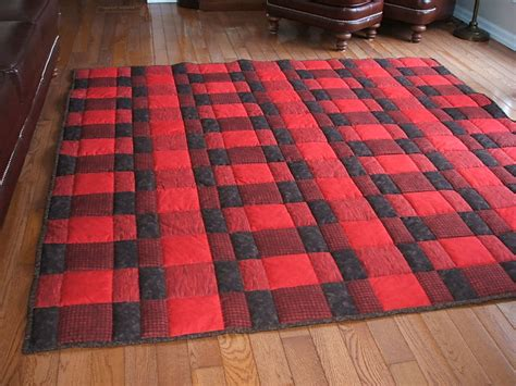 Plaid Quilt by Plaid For Quilt