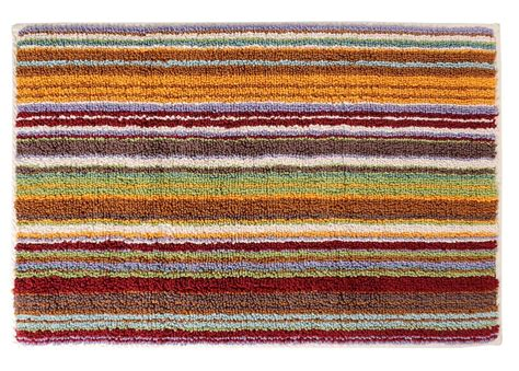 striped bath rug striped bath rug missoni home jazel 159 orange green