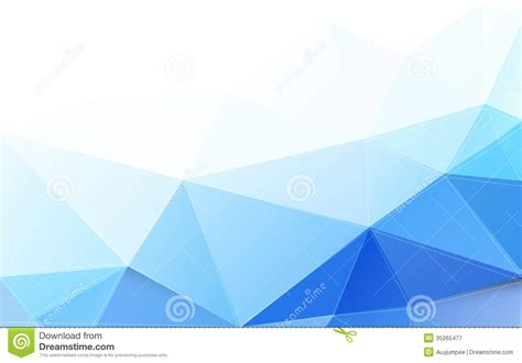 Modern Blue by Modern Blue Polygon Background And Space For Your Text