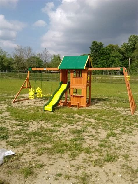 backyard discovery backyard discovery prairie ridge playset installed in