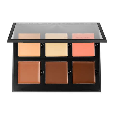 shade and light refillable palette kat von d shade light face contour refillable palette
