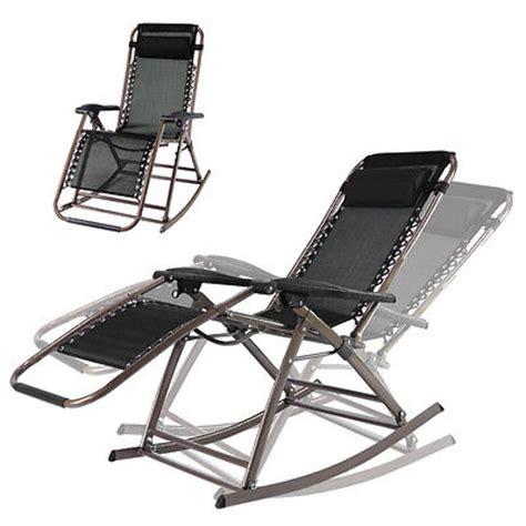 outdoor reclining chairs zero gravity infinity zero gravity rocking chair outdoor lounge patio