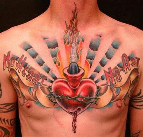 97 unbeatable chest tattoos for men