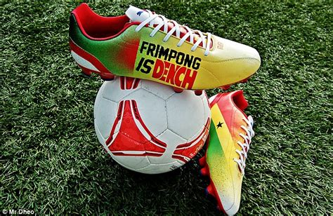 best football shoes for midfielders frimpong is dench arsenal midfielder unveils personalised