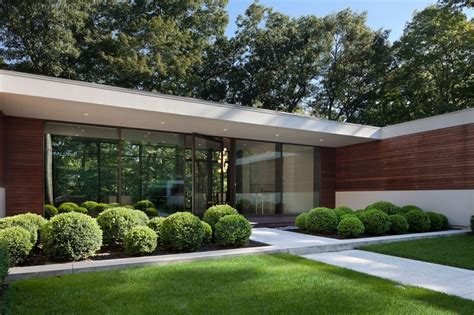 u shaped homes modern two story u shaped house