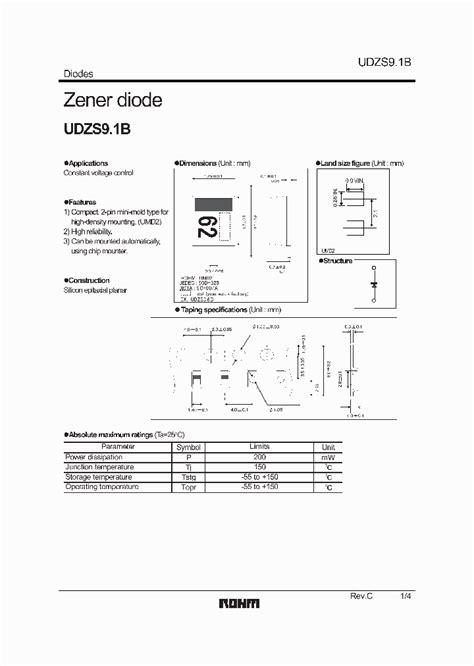 diode pdf file udzs91b07 2778913 pdf datasheet ic on line