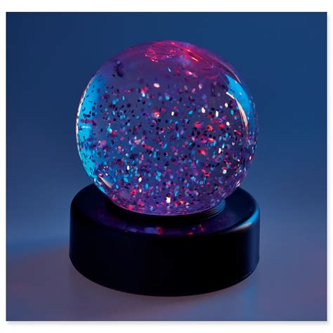 glitter globe spacekraft
