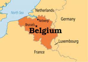 map of belgium belgium operation world