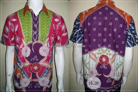 baju batik warna warni batik tulis pria ngejreng unik