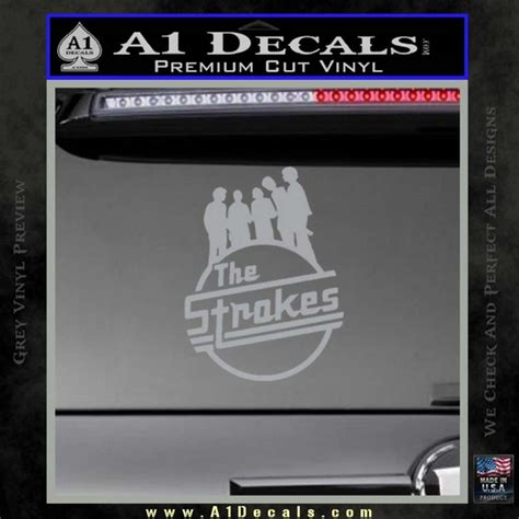 Sticker Band The Strokes The Strokes D1 Decal Sticker 187 A1 Decals