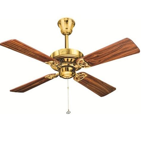 designer ceiling fans buy usha hunter bayport bright brass designer ceiling fan