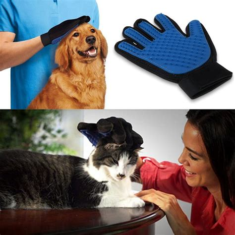 dog and cat house grooming pet deshedding cleaning brush magic glove dog cat hair massage grooming groomer ebay