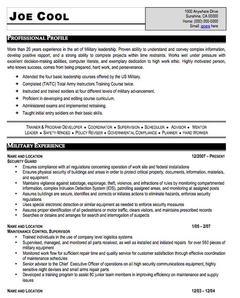 sle resume to civilian sle resume sle army resume 28 images resume army sales