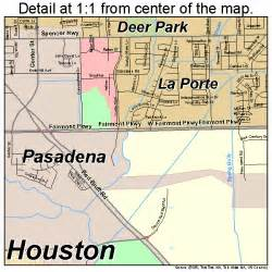 where is pasadena on the map pasadena map 4856000