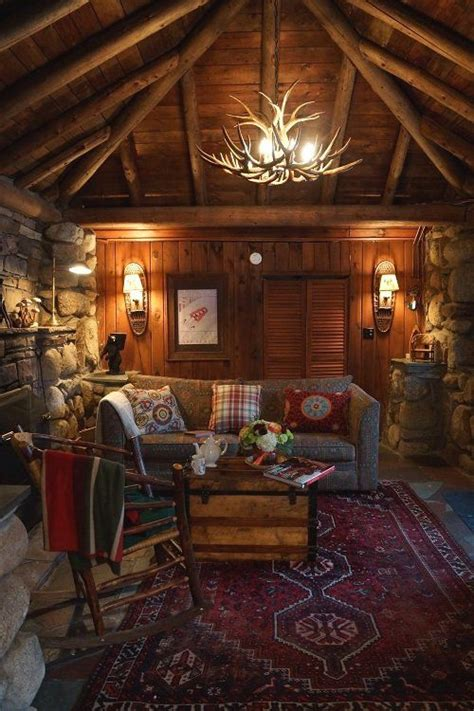 8 home decorating ideas to cure winter cabin fever vogue winter night cabin and rustic on pinterest