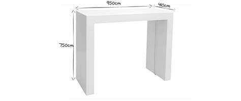 Table Console Extensible Design by Table Extensible Console Design Ch 234 Ne Caleb Miliboo