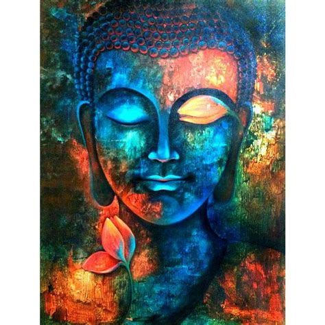 colorful buddha 2018 buddha colorful 100 drill diy painting