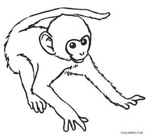 what color are monkeys free printable monkey coloring pages for cool2bkids