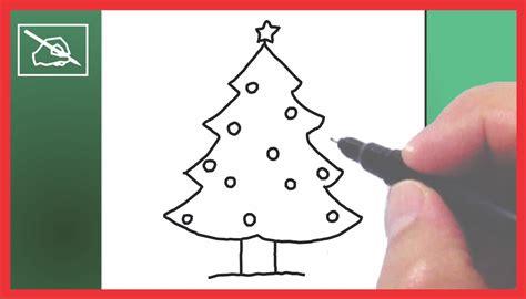 c 243 mo dibujar un 193 rbol de navidad drawing a chritmas tree