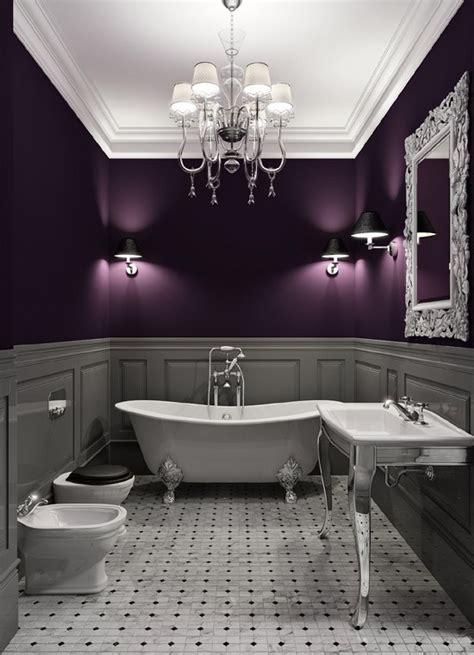 plum  gray interior design  luxury spot